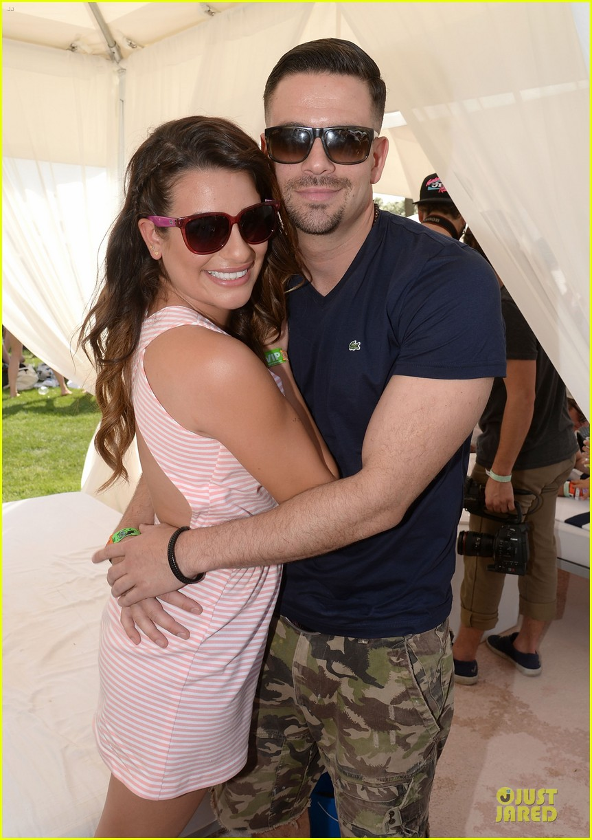 lea michele katy perry coachella lacoste party 02