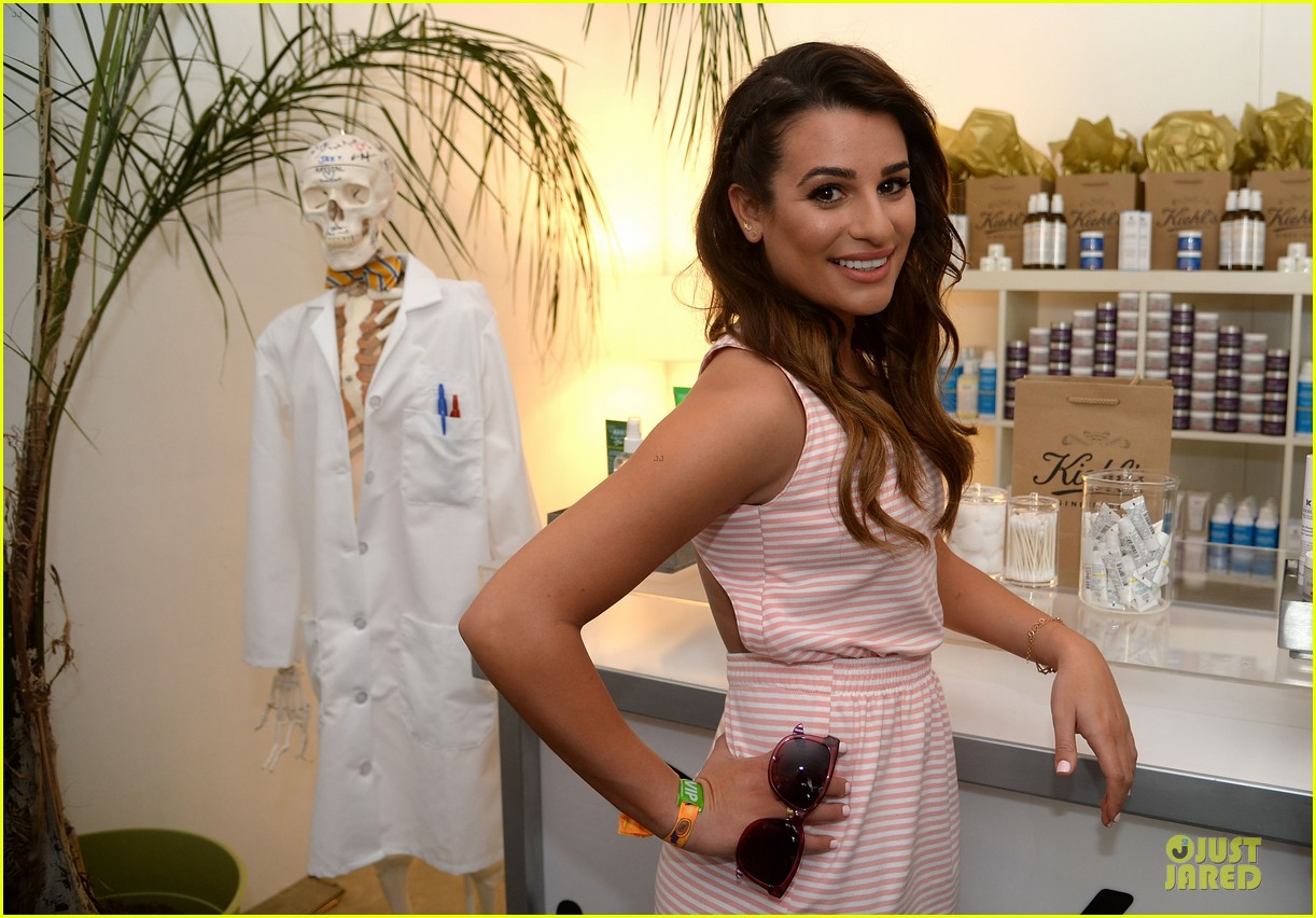 lea michele katy perry coachella lacoste party 04