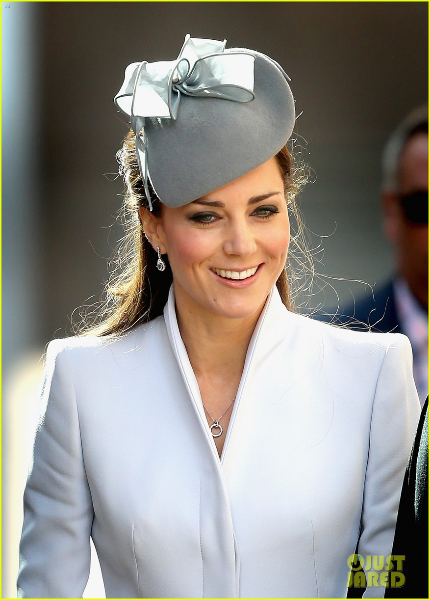 kate middleton definitely wins easter sunday best dressed 123095368