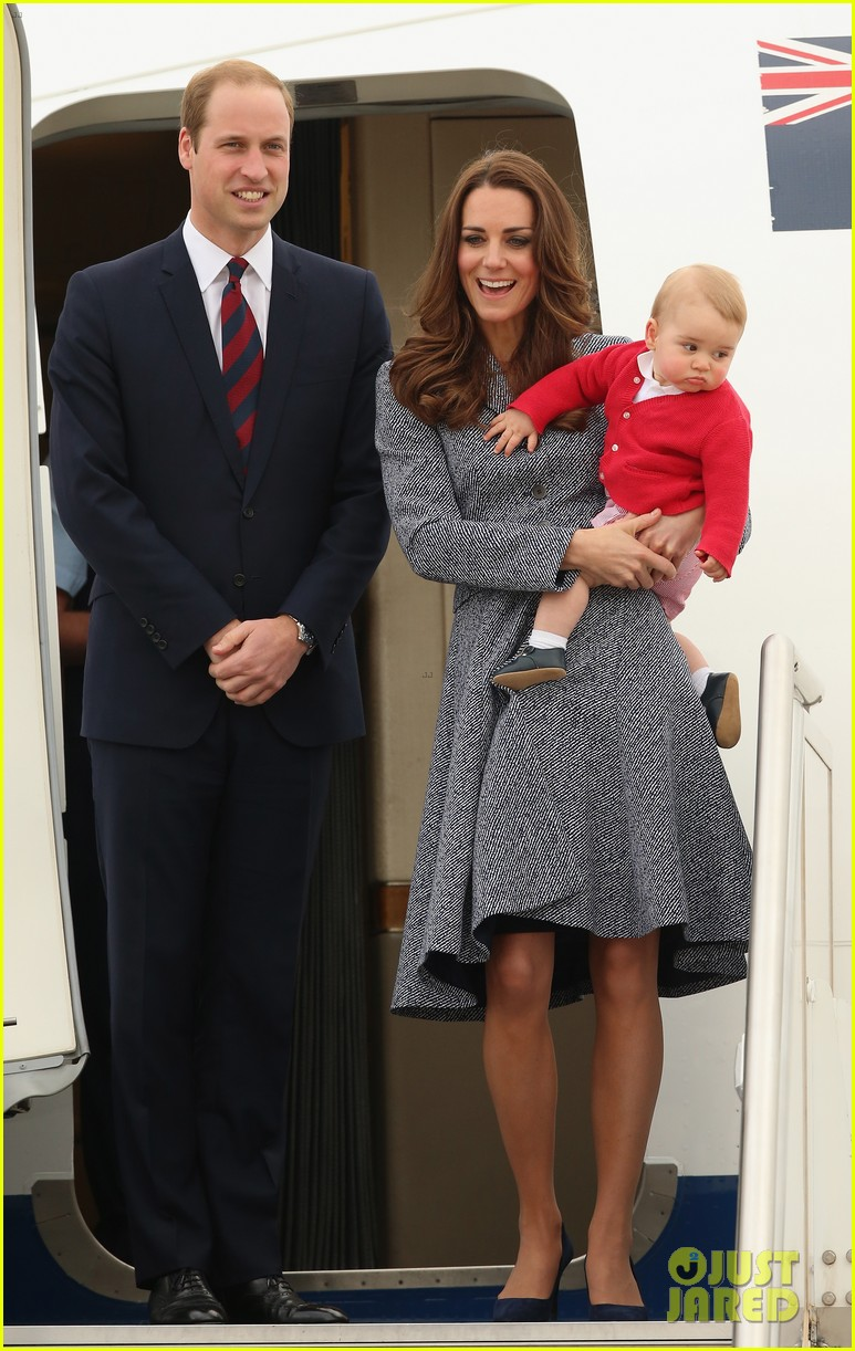 kate middleton prince william prince george say goodbye to australia 05