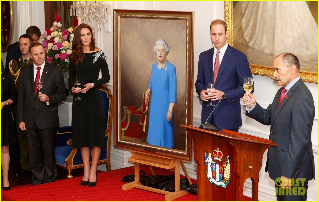 kate middleton prince william send thanks to new zealand for welcoming them bonny lad 12
