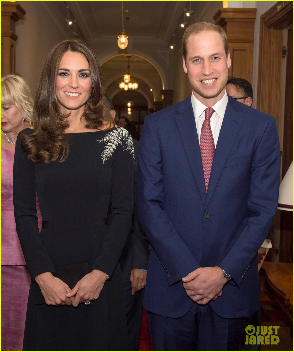 kate middleton prince william send thanks to new zealand for welcoming them bonny lad 14