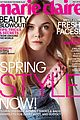 elizabeth olsen elle fanning are shining stars for marie claire may 2014 02