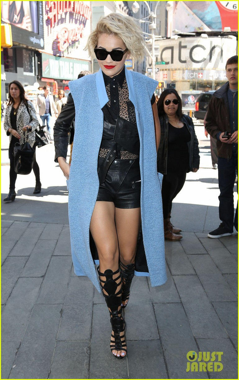 rita ora rocks three outfits to promote i will never let you down in nyc 10