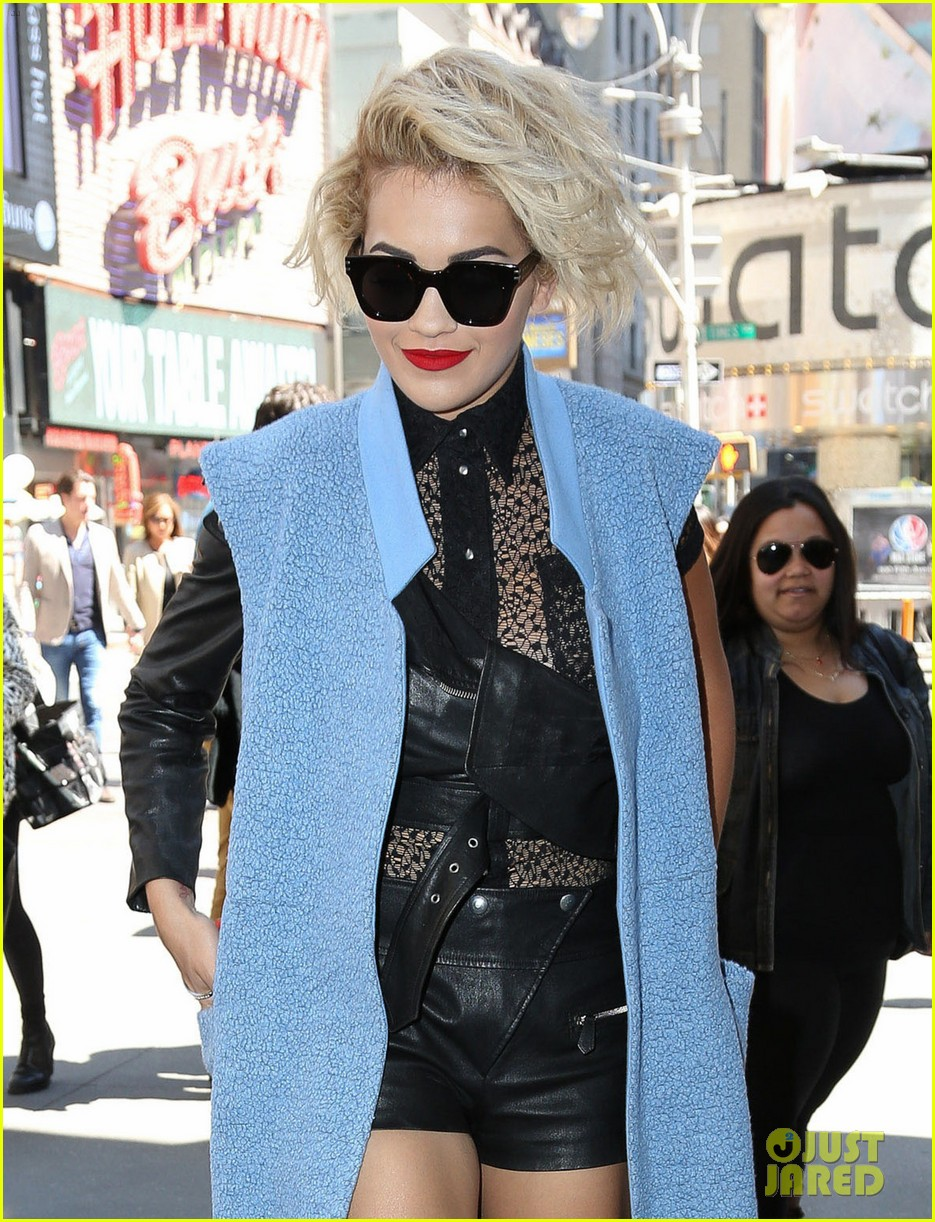 rita ora rocks three outfits to promote i will never let you down in nyc 11