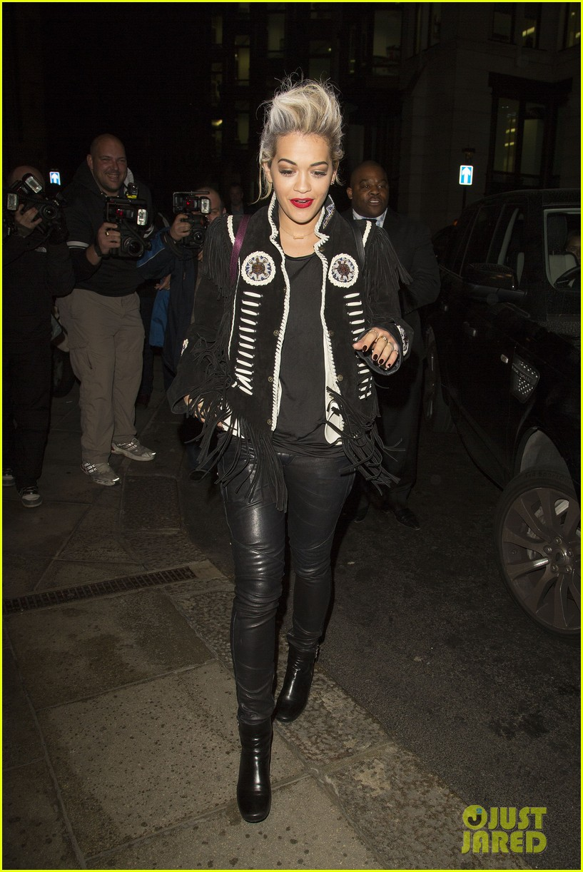 rita ora dines with chloe green at novikov in london 113083841
