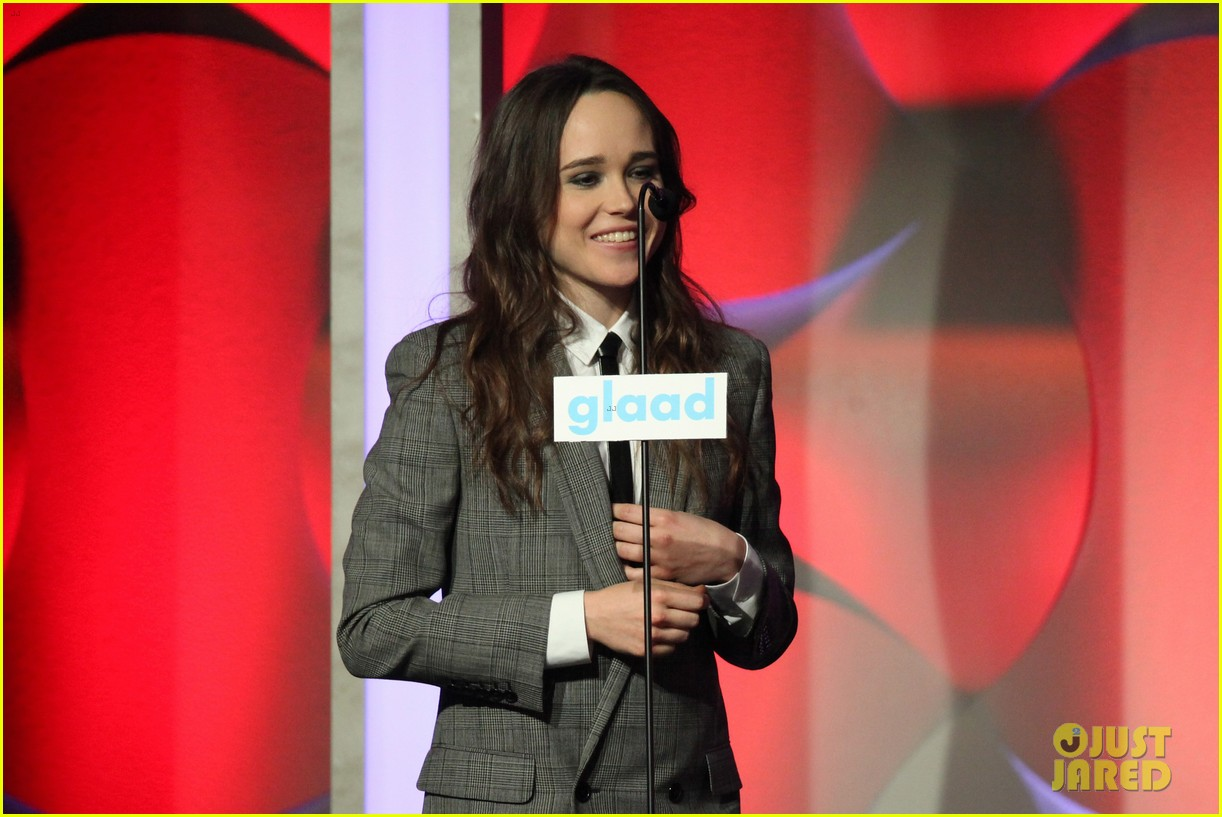 ellen page laverne cox glaad media awards 2014 16