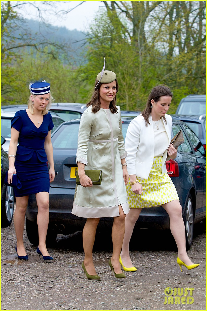 pippa middleton goes green for her friends wedding 01