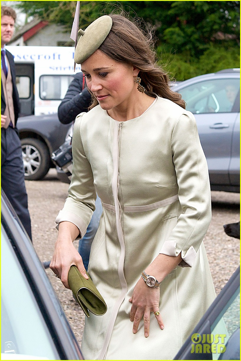 pippa middleton goes green for her friends wedding 273101756