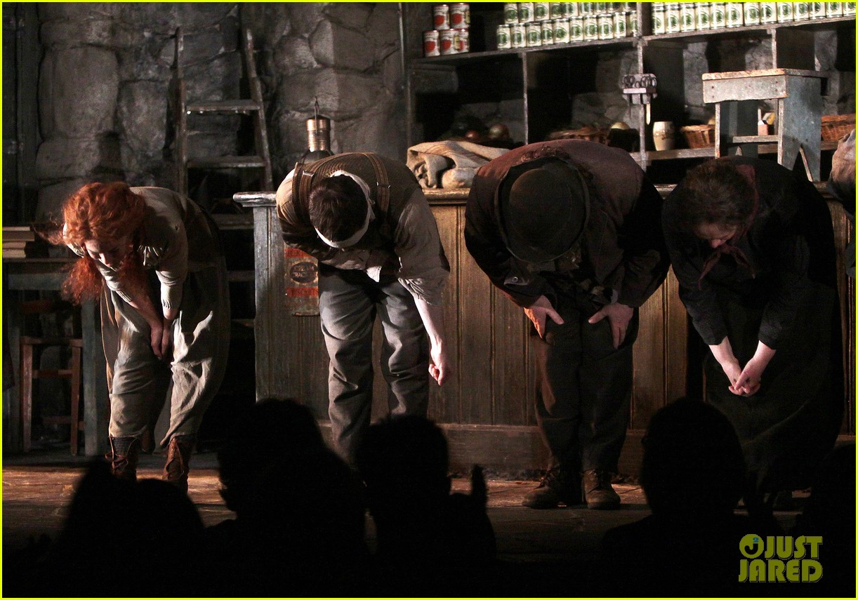 daniel radcliffe takes a much deserved bow for official broadway return 05