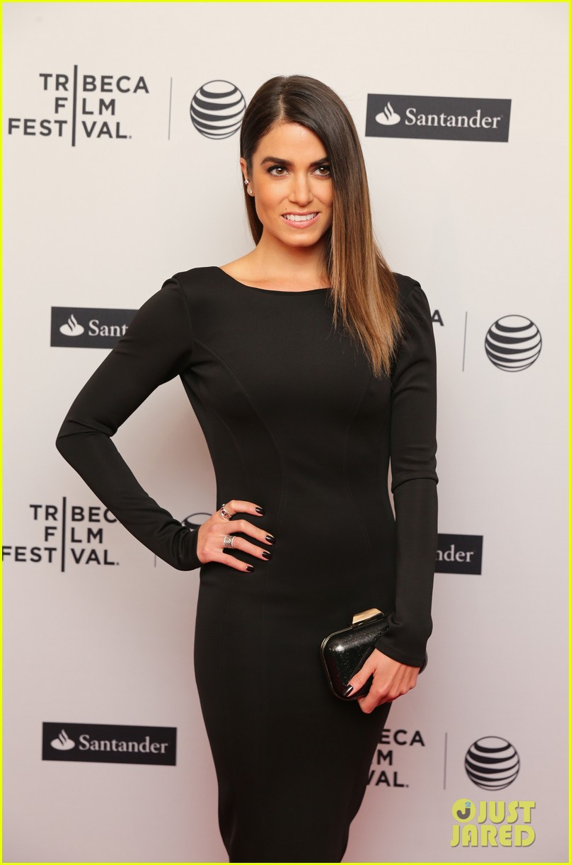 nikki reed wears a tight black dress looks amazing at tribeca premiere 09