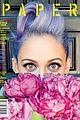 nicole richie is all about color for paper magazine exclusive pic 01.