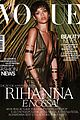 rihanna wears low cut high slit dress for vogue brasil 01