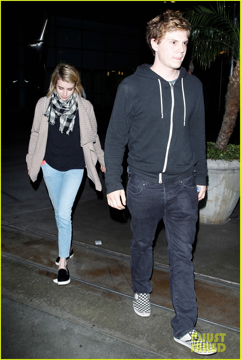emma roberts evan peters havent started wedding planning just yet 05