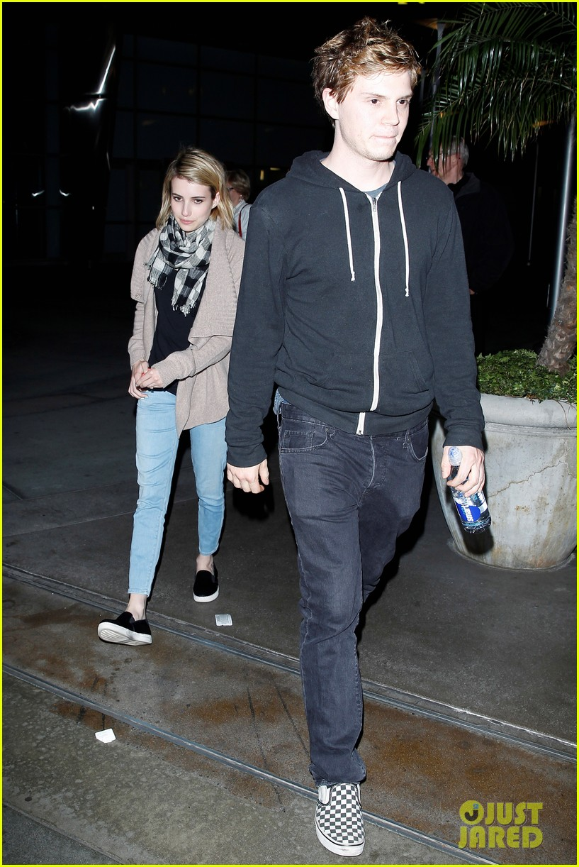 emma roberts evan peters havent started wedding planning just yet 07