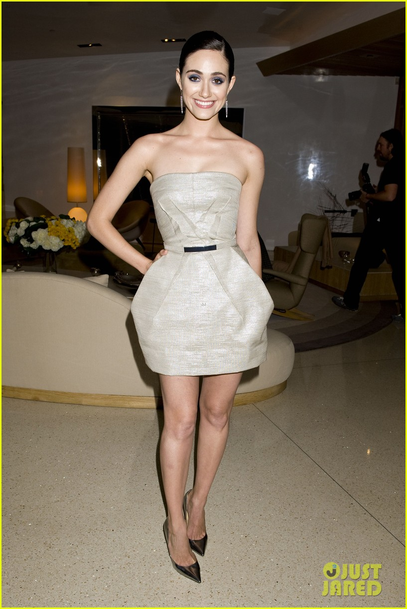 emmy rossum zoey deutch join jimmy choo at their choo 08 launch party 073093260
