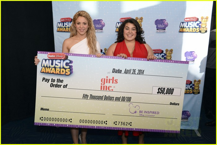 shakira radio disney music awards 2014 133099950