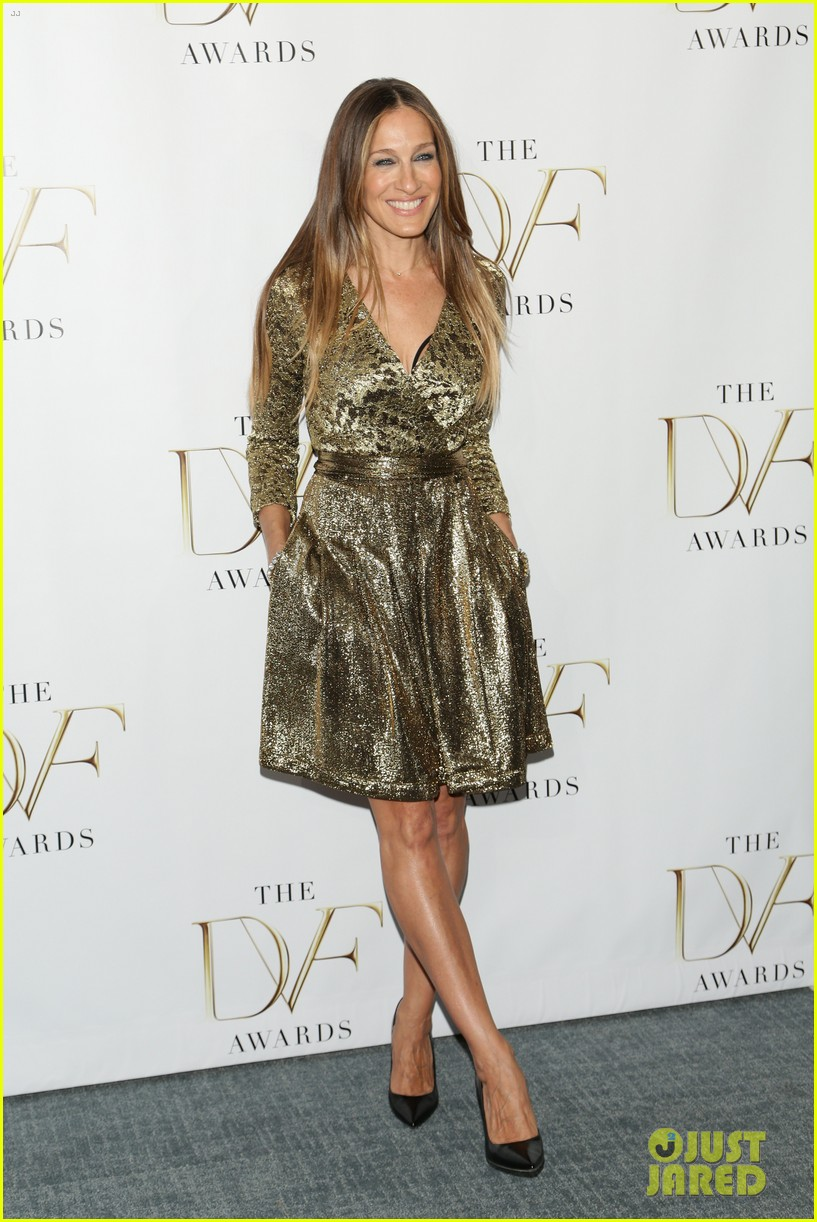sarah jessica parker alicia keys dvf awards 083084806