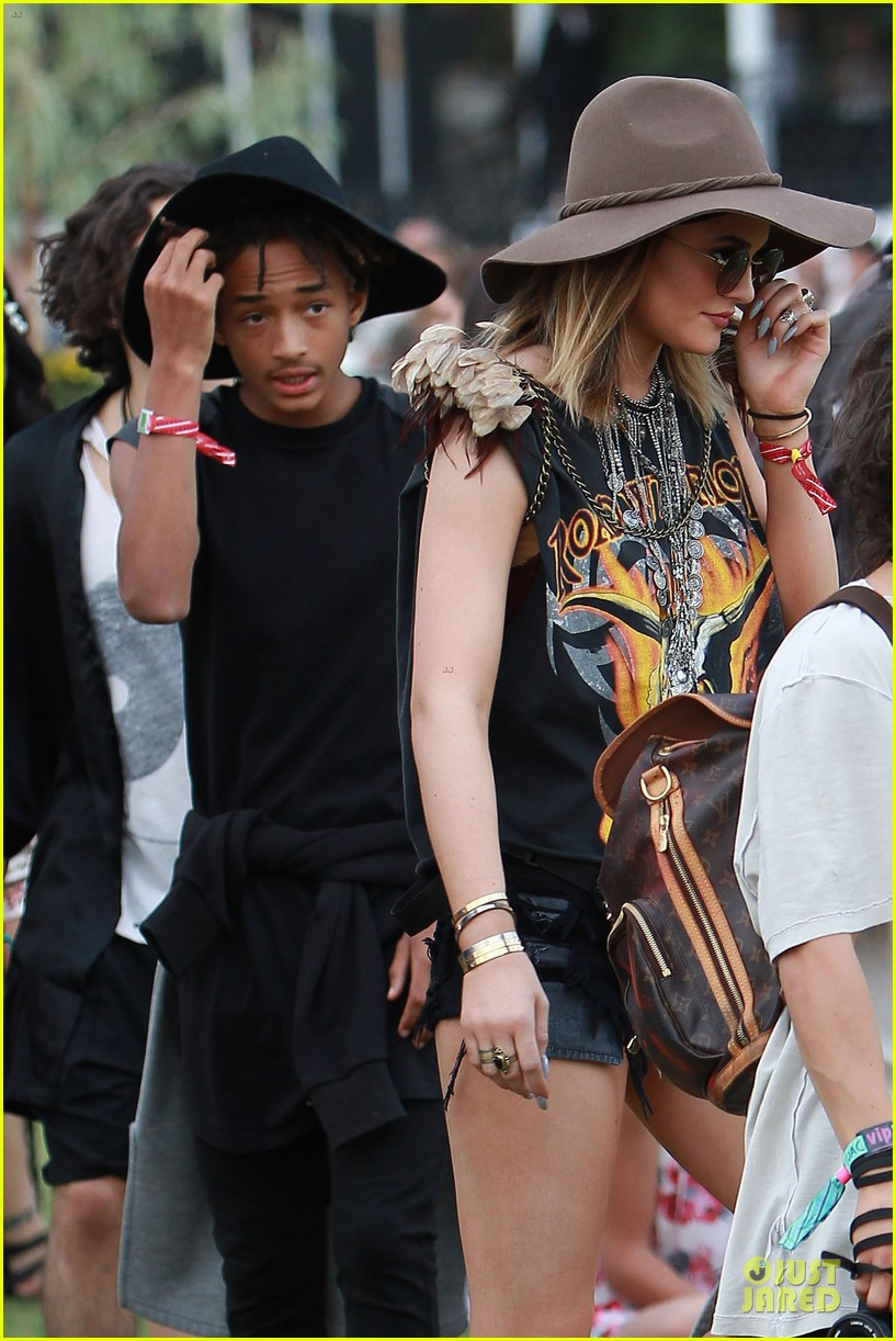 jaden smith kylie jenner hats at coachella 023095000