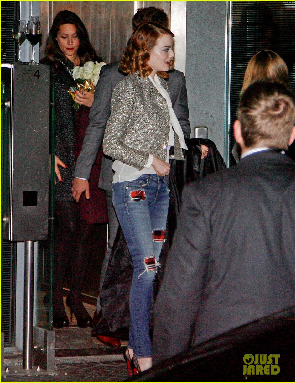 emma stone dresses down after spider man 2 berlin premiere 173092870