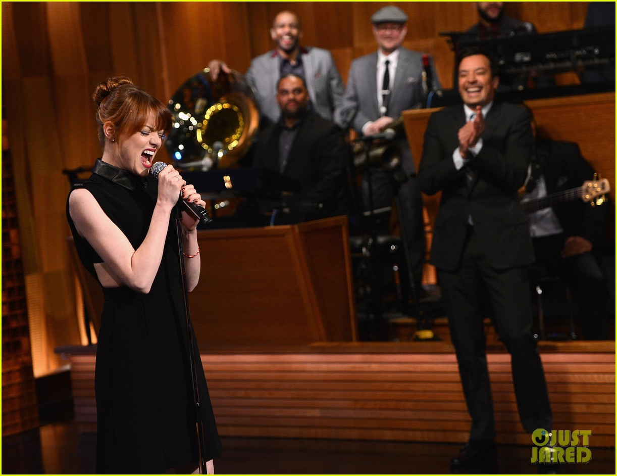 emma stone lip sync battle jimmy fallon 073101290