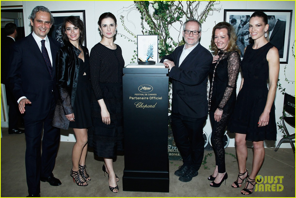 hilary swank joins berenice bejo at the chopard cocktail party 07