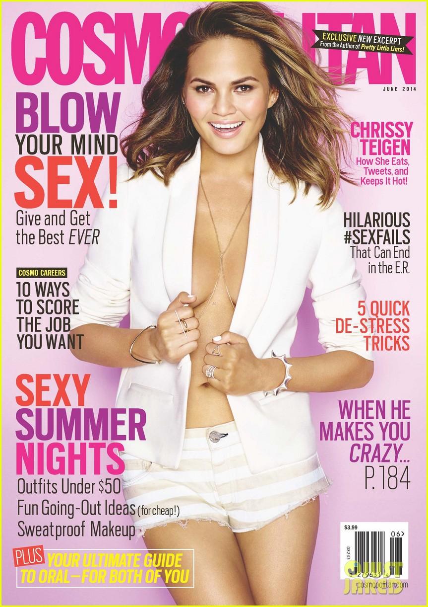 chrissy teigen covers cosmopolitan june 2014 04