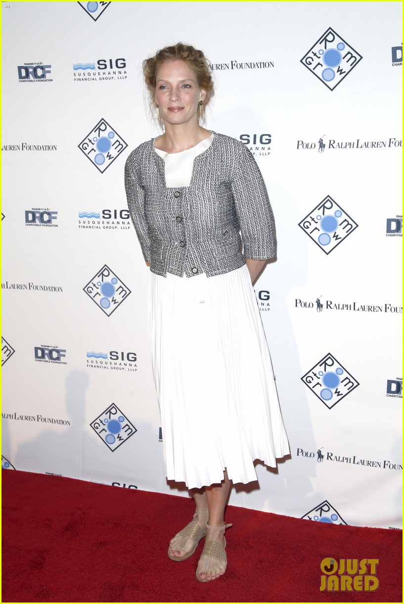 uma thurman josh lucas room to grow spring gala 013087461