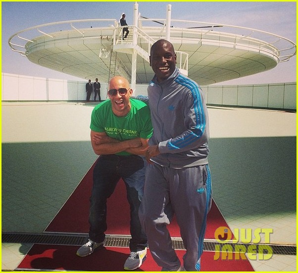 vin diesel tyrese ludacris take on dubai for fast 7 filming 14