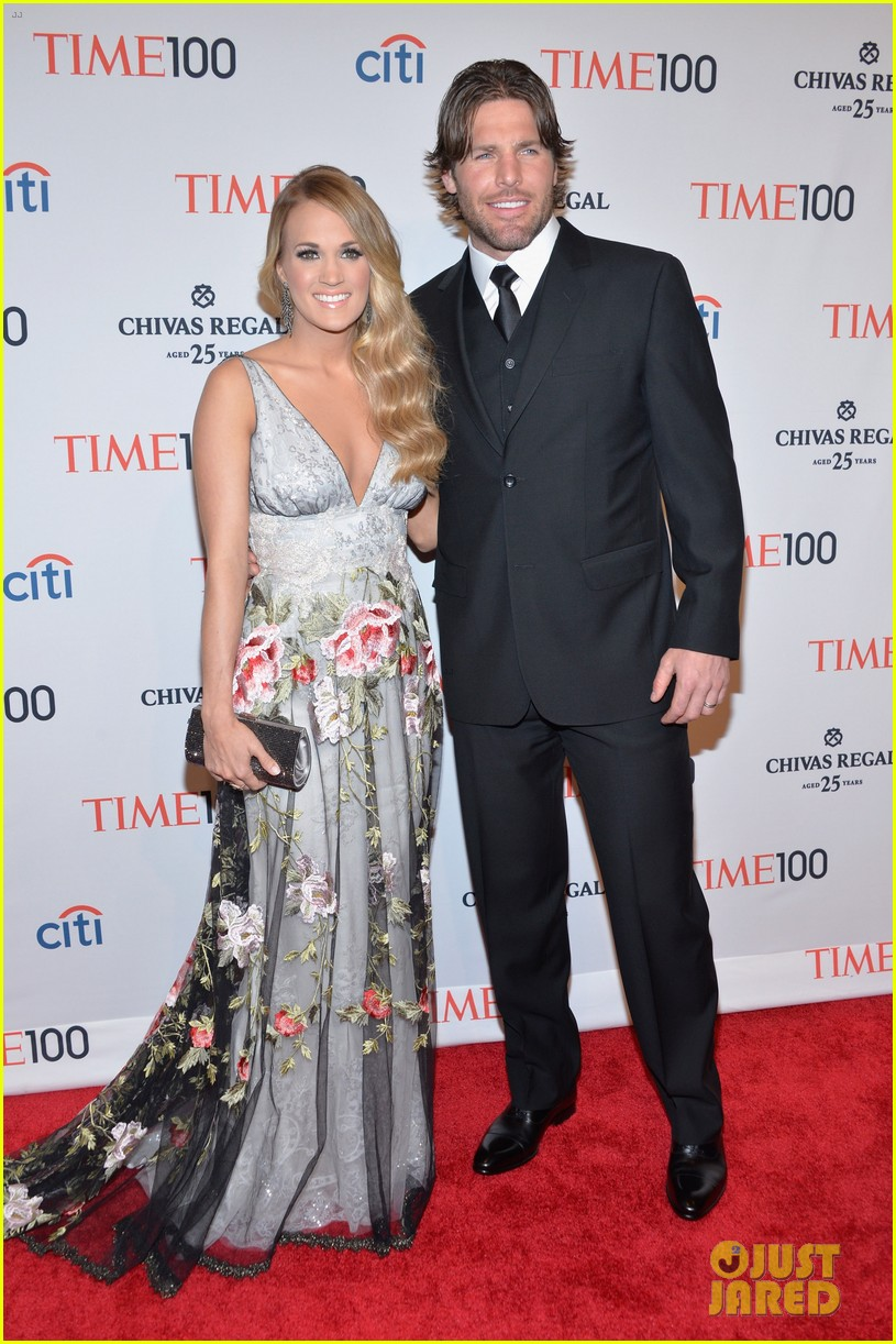 carrie underwood mike fisher time 100 event 013101802