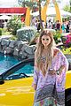 vanessa hudgens ashley benson coachella pool party 11