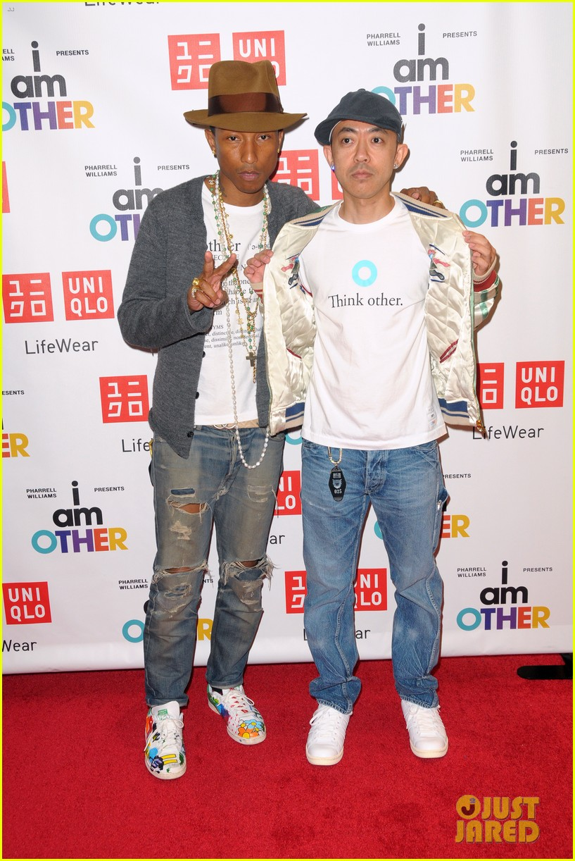 pharrell williams launches i am other collection at uniqlo 043101481