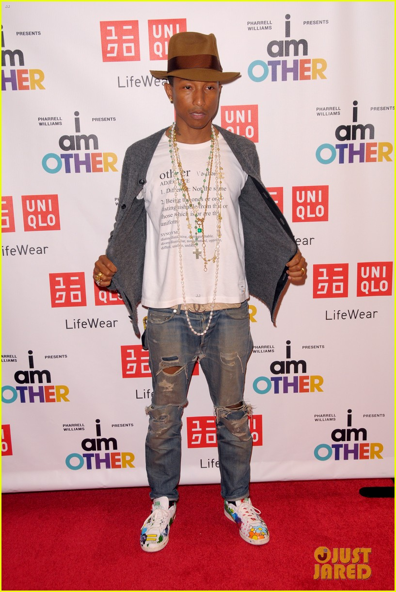 pharrell williams launches i am other collection at uniqlo 053101482