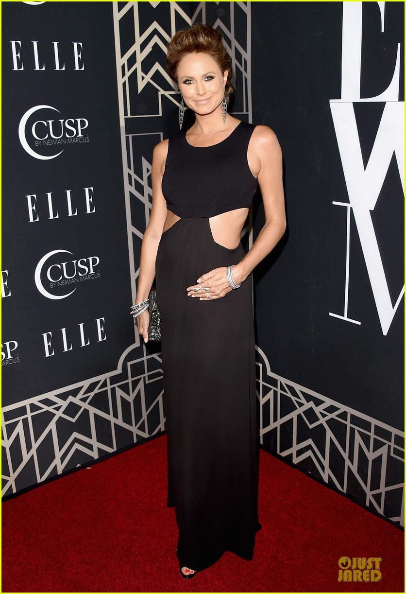 rumer willis cutout dress is sexy at elle music celebration 073097218