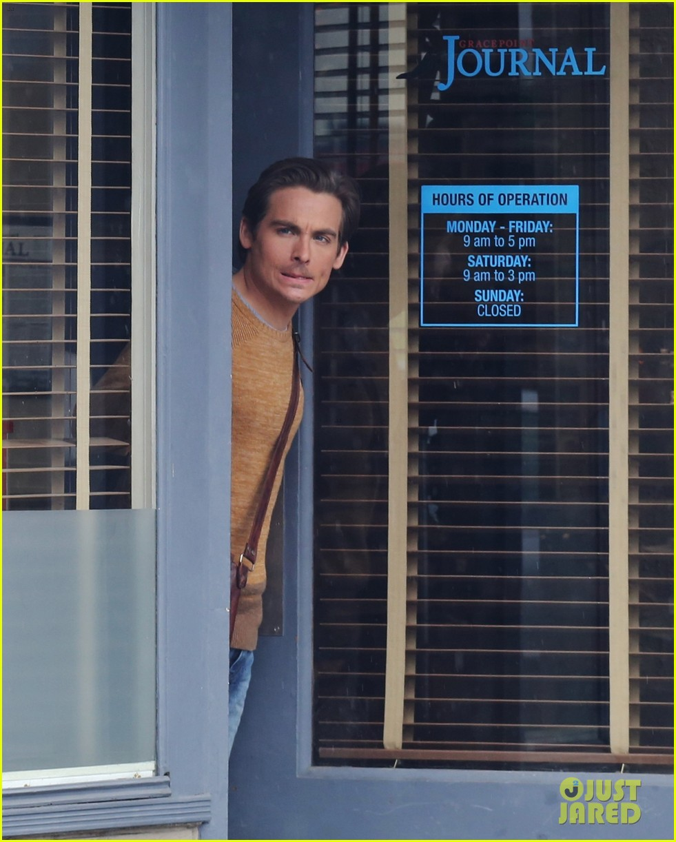 kevin zegers begins work on gracepoint 123086549