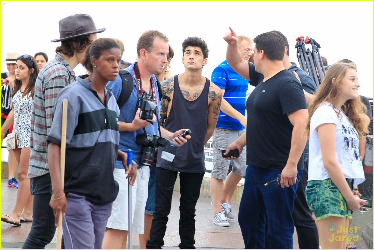 one direction visit christ redeemer statue 14