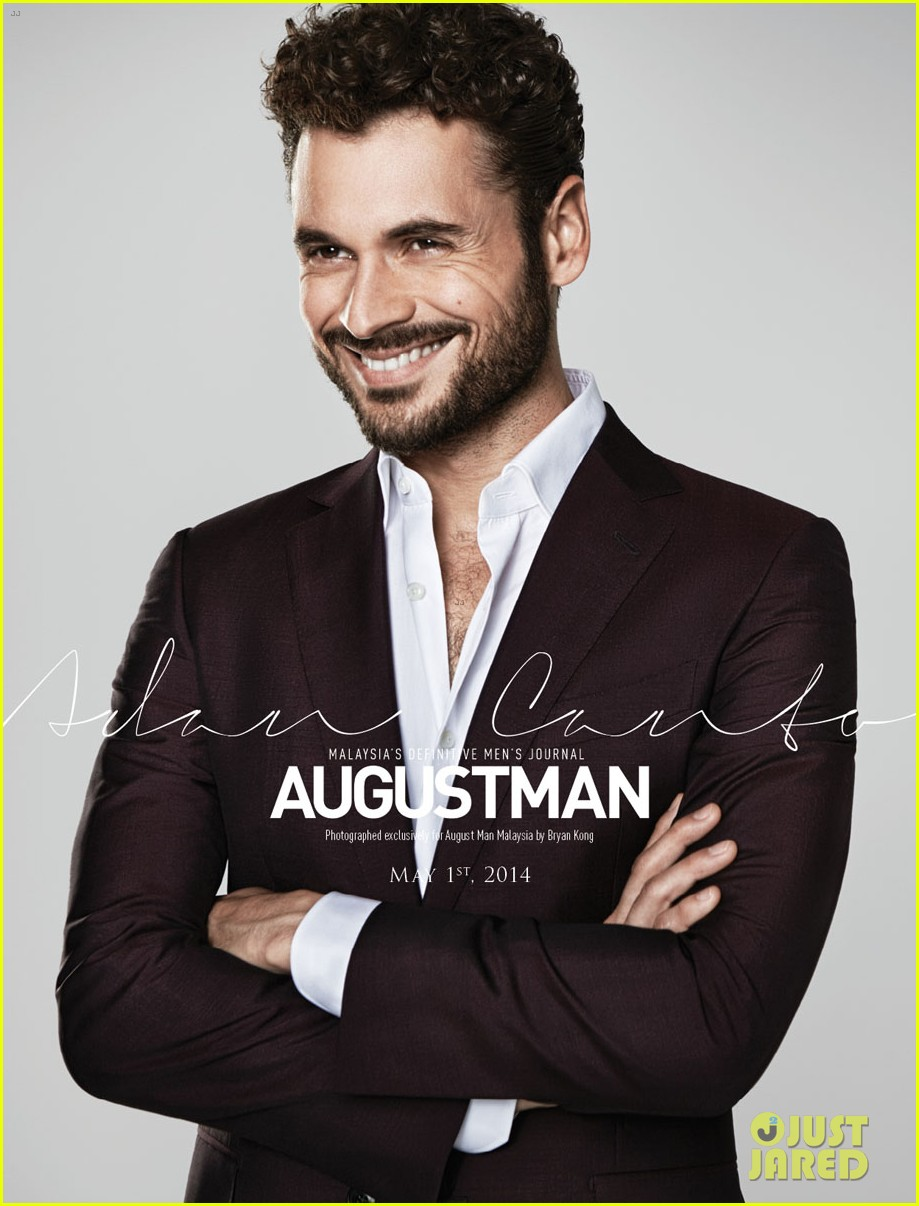 adan canto talks x men role with august man malaysia mag photo