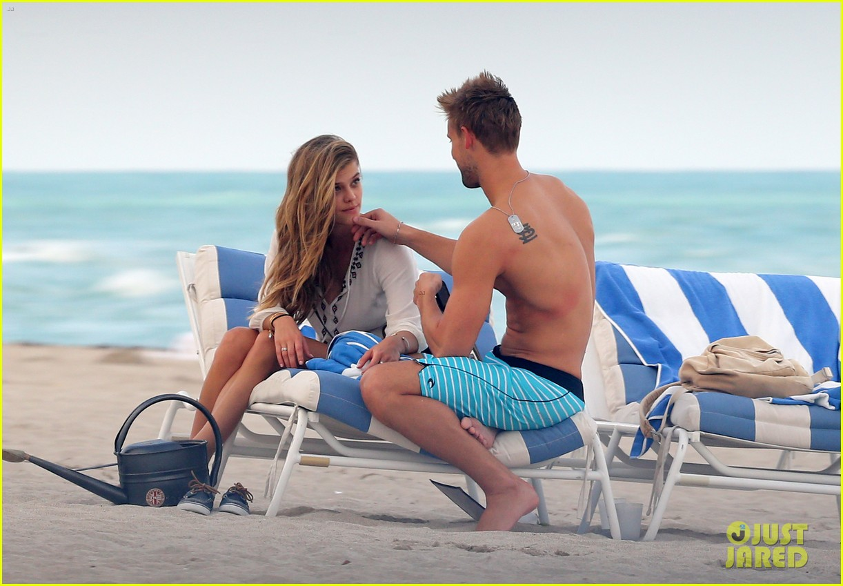 nina agdal reid heidenry making out 14