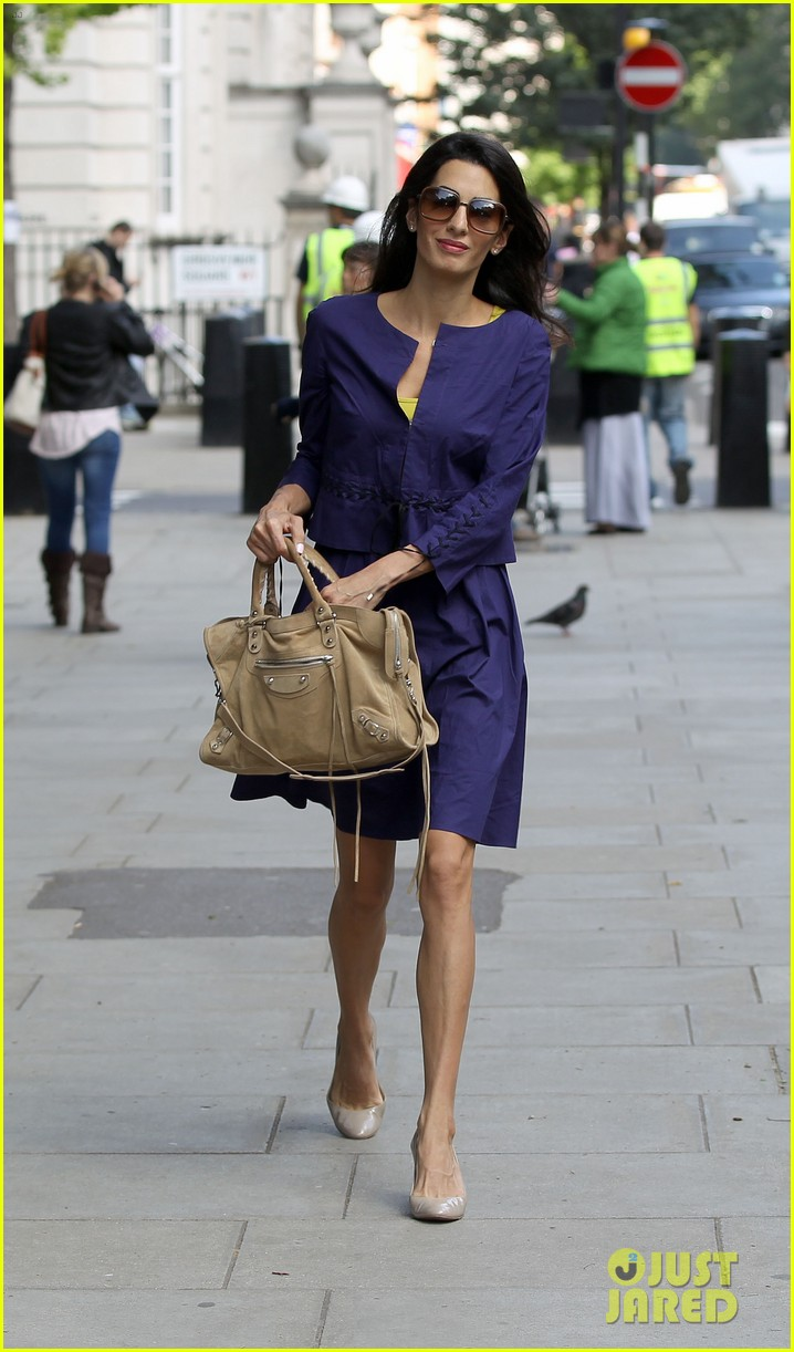 george clooneys fiancee amal alamuddin is back at work 07