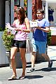 alessandra ambrosio shows off her super long legs in spandex shorts 15