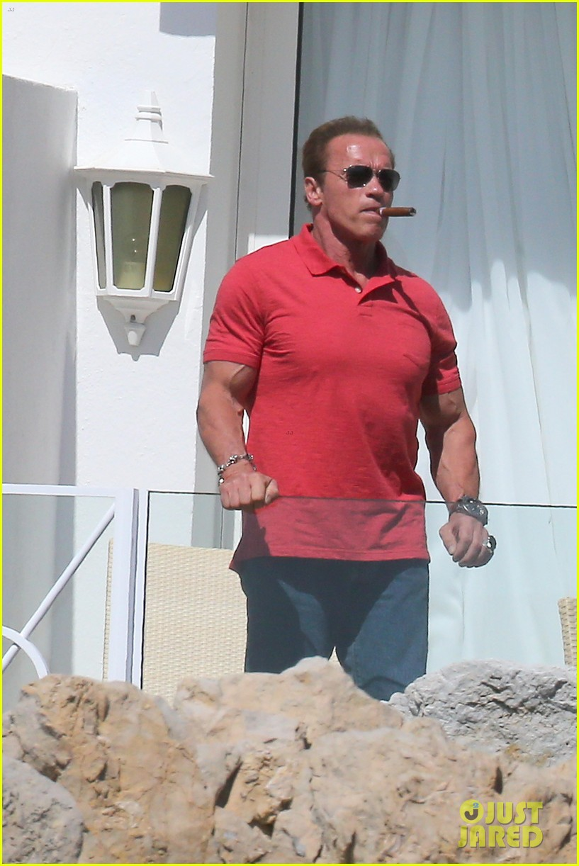 arnold schwarzenegger shirtless buff cannes 03