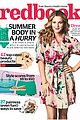drew barrymore spring redbook magazine cover 01