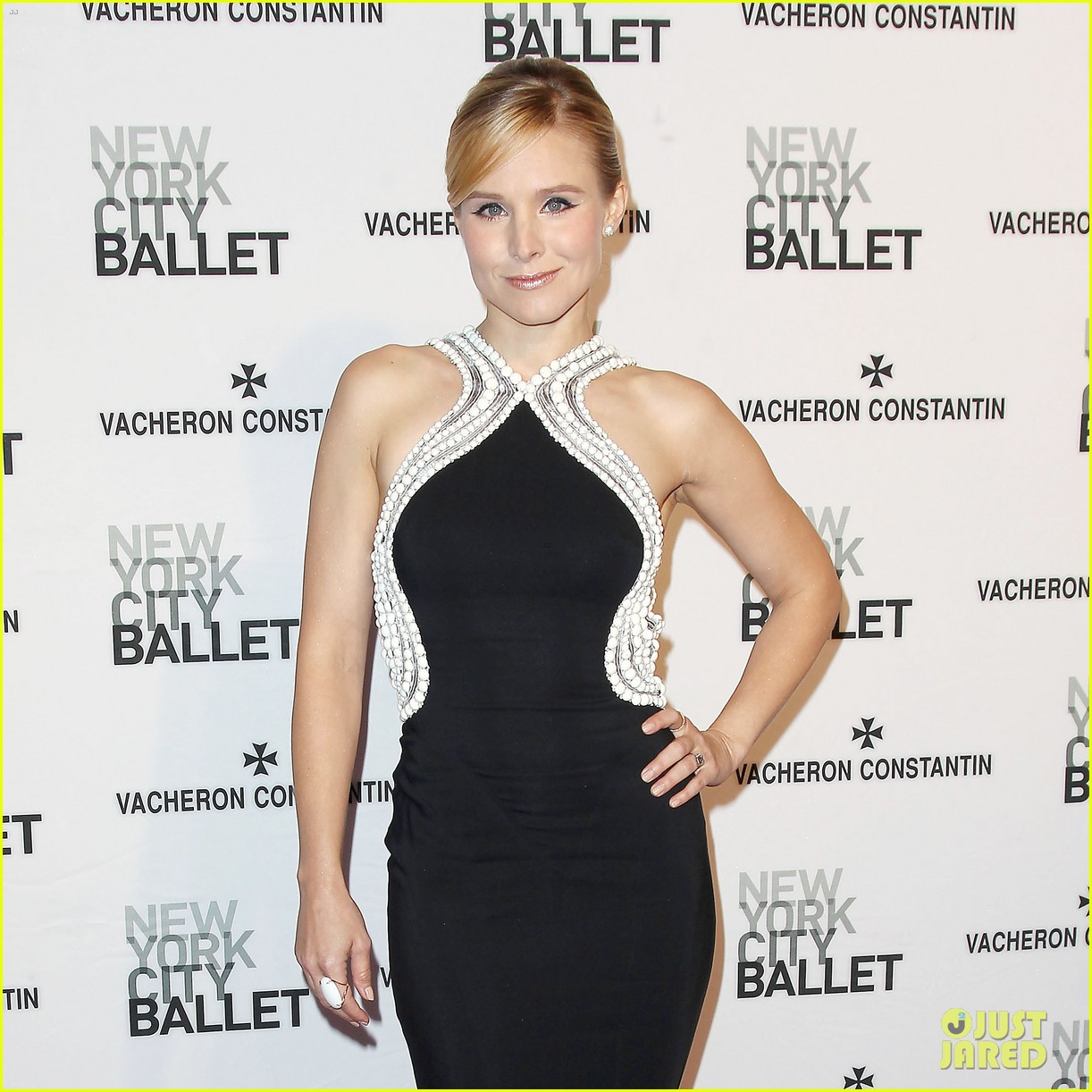 kristen bell is belle of the new york city ballet spring gala 2014 093109277