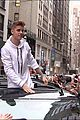 justin bieber causes fan frenzy in nyc and loves it 02