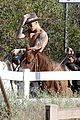 justin bieber shirtless horseback ride 17