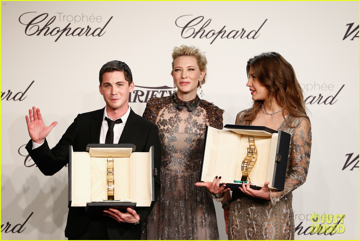 cate blanchett honors young stars with chopard trophy 103114606