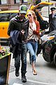 kate bosworth michael polish central park stroll 01