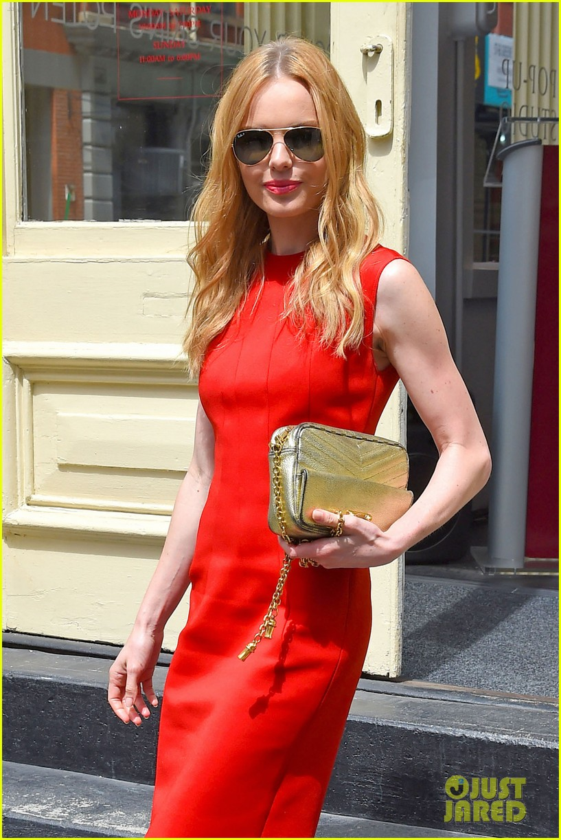 kate bosworth rocks three fashionable dresses for day out in nyc 043103721