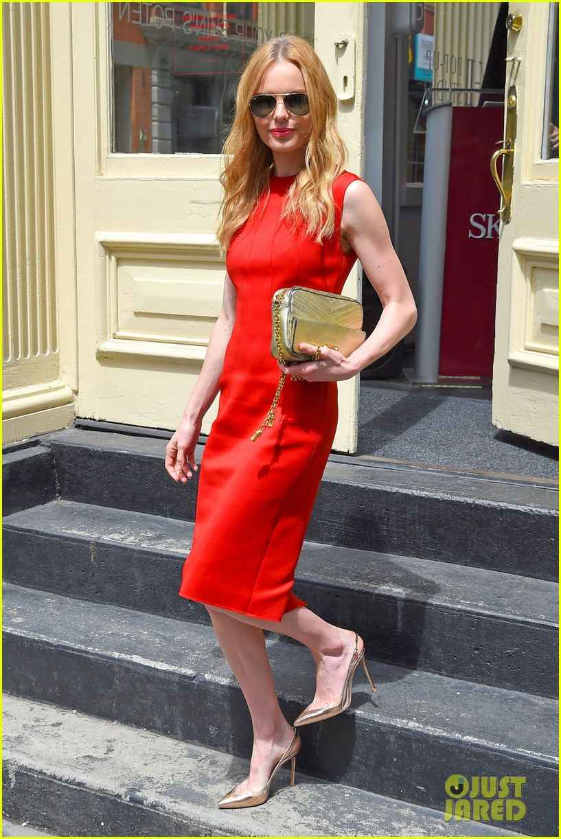 kate bosworth rocks three fashionable dresses for day out in nyc 06