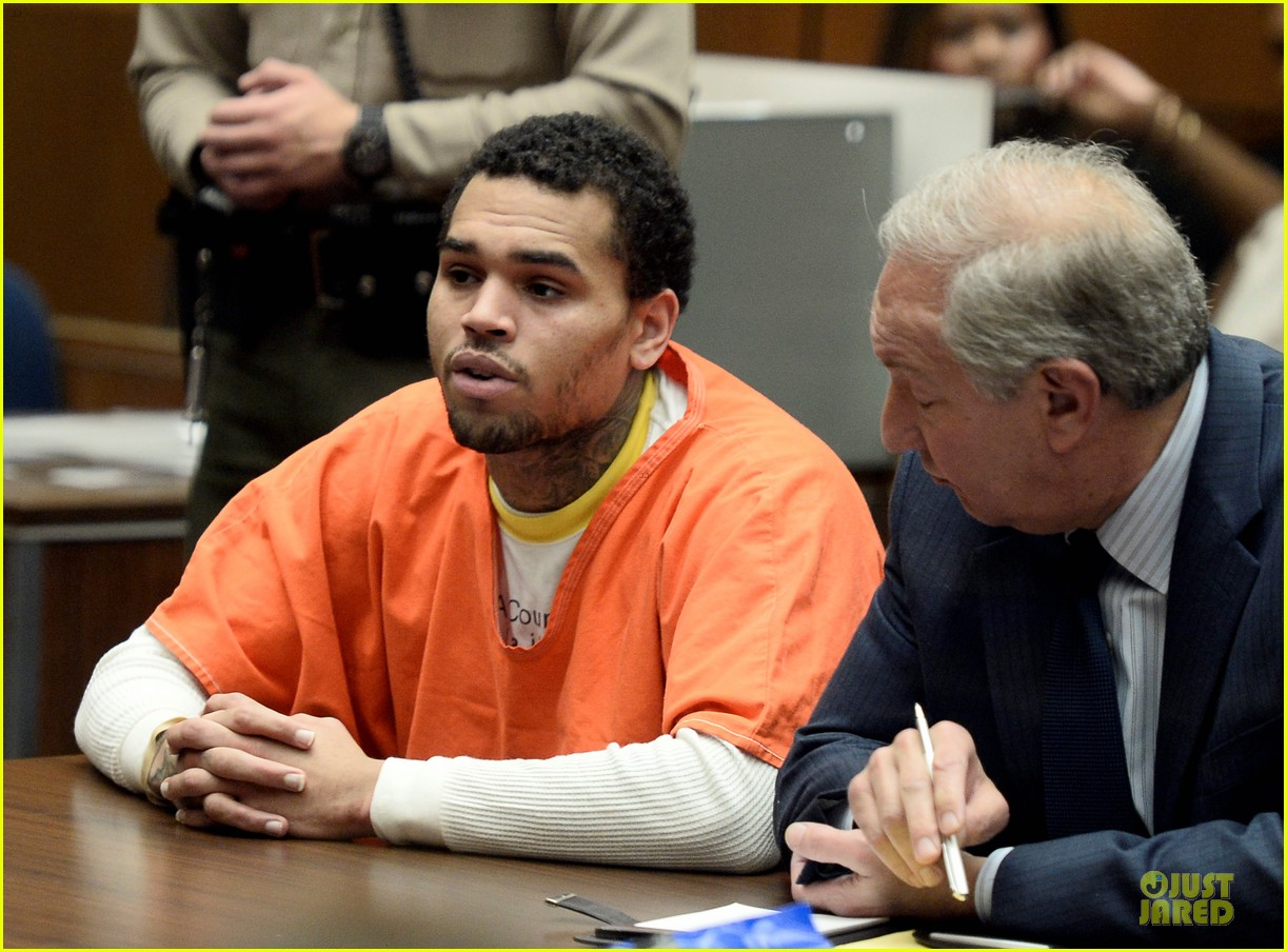chris brown gets 131 days of jail 05